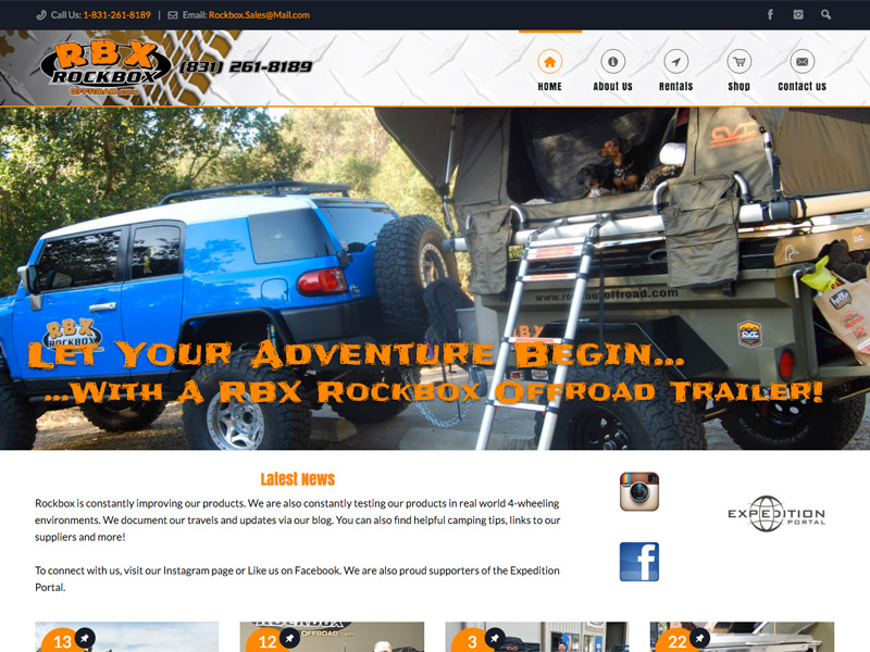 RockBox Offroad Adventure Trailers