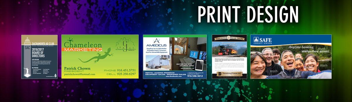 Sacramento Graphic Design | Print Designer | DanteMutti Graphic Designer